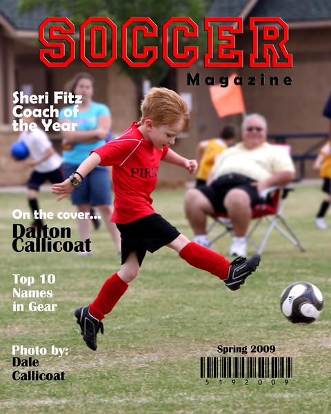 Dalton Soccer Magazine Cover