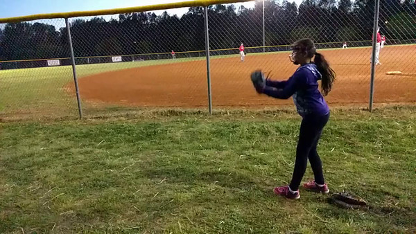 Pitching practice 2016