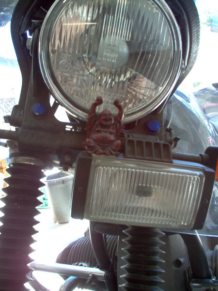 Buddah and the art of motorcyle maintenance