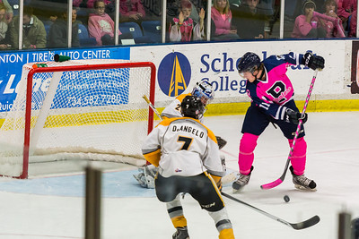 Plymouth Whalers Pink Out 2013
