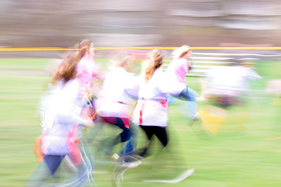 Pohatcong Township Powder Puff Game. Sometimes even a photo gone bad looks cool?