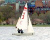 A windy day on the Charles