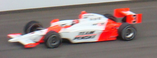 Hélio Castroneves - first attempt
