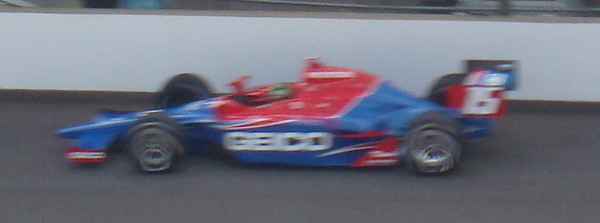 Paul Tracy - first attempt