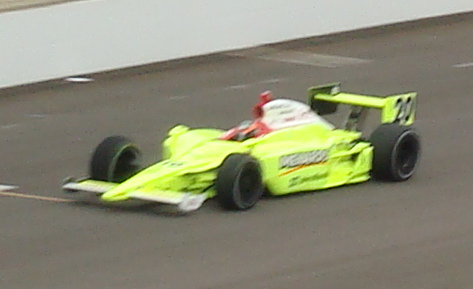 Ed Carpenter - first attempt