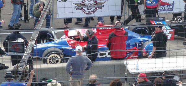 Paul Tracy - in line for first attempt