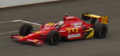 Graham Rahal - first attempt