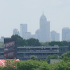 Indianapolis skyline as seen from the Indianapolis Motor Speedway