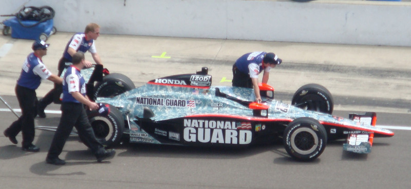 Dan Wheldon's car
