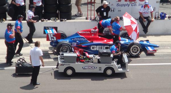 Paul Tracy's car