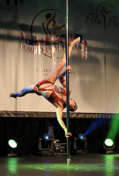 Veronica Solimano, Word Pole Sport & Fitness 2012, finalist.