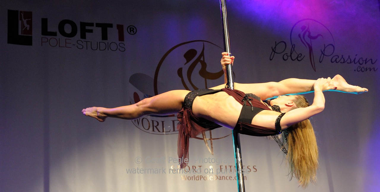Laurence Hilsum (2nd place), Word Pole Sport & Fitness 2012.