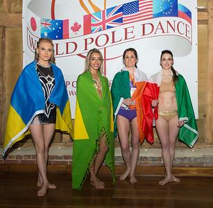 Prelims Group A  Hanna AntonovaUKRAINE Renata AlfinitoBRAZIL Susan Nolan IRELAND Valeria Bonalume ITALY
