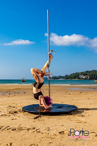 Poledance Class 6/20  Beach photos
