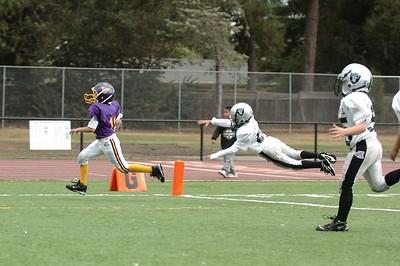 Gold Vs. Morgan Hill Raiders - 2 on  9-19-2004