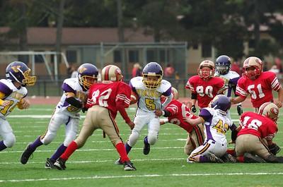 Vikings Purple Vs. Redwood City 49ers 10-03-2004