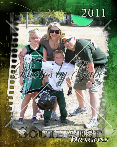 Pop Warner Dragons - Tiny Mites Division