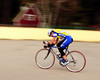 "The Porky Gulch Classic, a 3 stage bicycle race, presented by Great Glen Trails, of Gorham, NH, was held on November 6th & 7th, 2010. A rider speeds along the course, during the event's 2nd stage, ""The Story Land Criterium"", which was held at Story Land, a popular theme park in Glen, NH, on Saturday, November 6th, 2010."