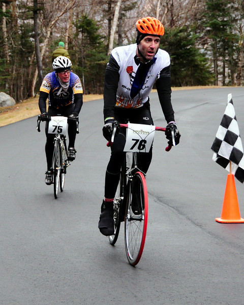 "The Porky Gulch Classic, a three stage bicycle race, held over two days, and hosted by Great Glen Trails, began with ""The Toughest Two"", on The Mt. Washington Auto Road, Saturday November 6th, 2010. In Stage 1, riders raced up the first 2 miles of the Auto Road, in time trial format. Stage 2, ""Story Land Criterium"", was held at Story Land, in Glen, NH, with a 3 division critertium, through the popular theme park, and finished on November 7th, with ""Rockpile Rampage"", a cyclecross event held at Great Glen Trails, in Gorham, NH.The Porky Gulch Classic bicycle race, organized by Great Glen Trails."
