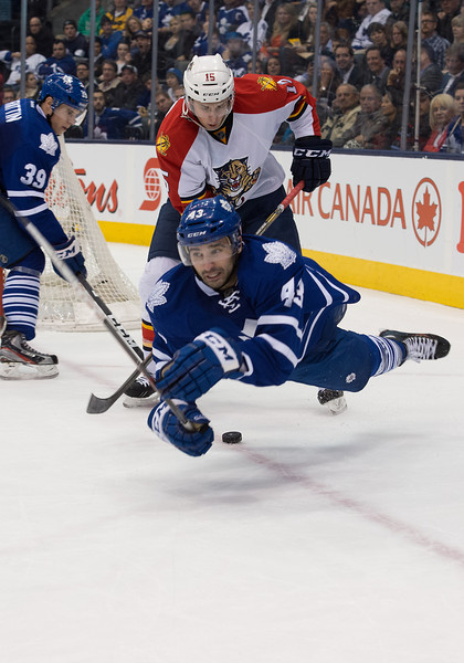 NHL: MAR 26 Panthers at Maple Leafs