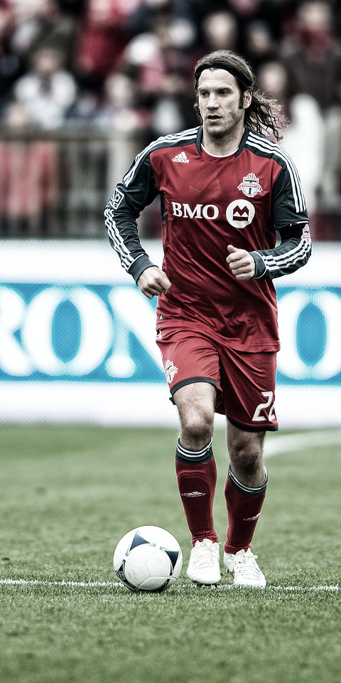 April 21, 2012: Chicago Fire at Toronto FC - Toronto FC midfielder Torsten Frings #22.