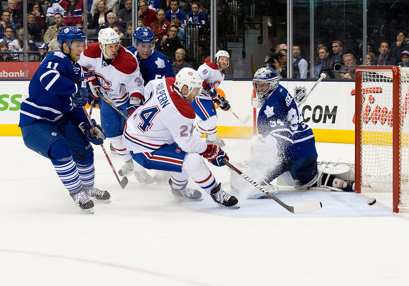 NHL: APR 13 Canadiens at Maple Leafs
