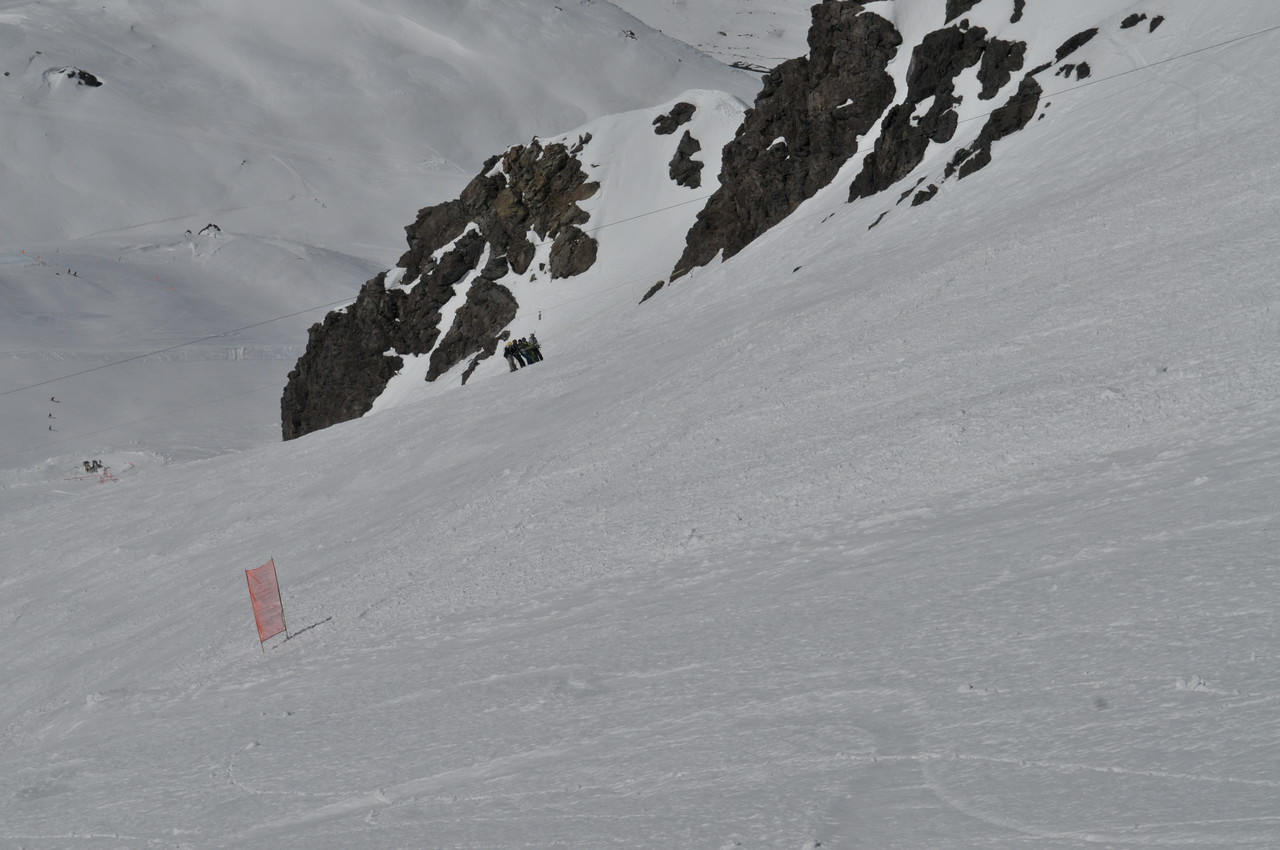 You can see Roca Jack with 5 People on it pulling them up the very steep slope.
