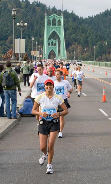 Portland Marathon 2007