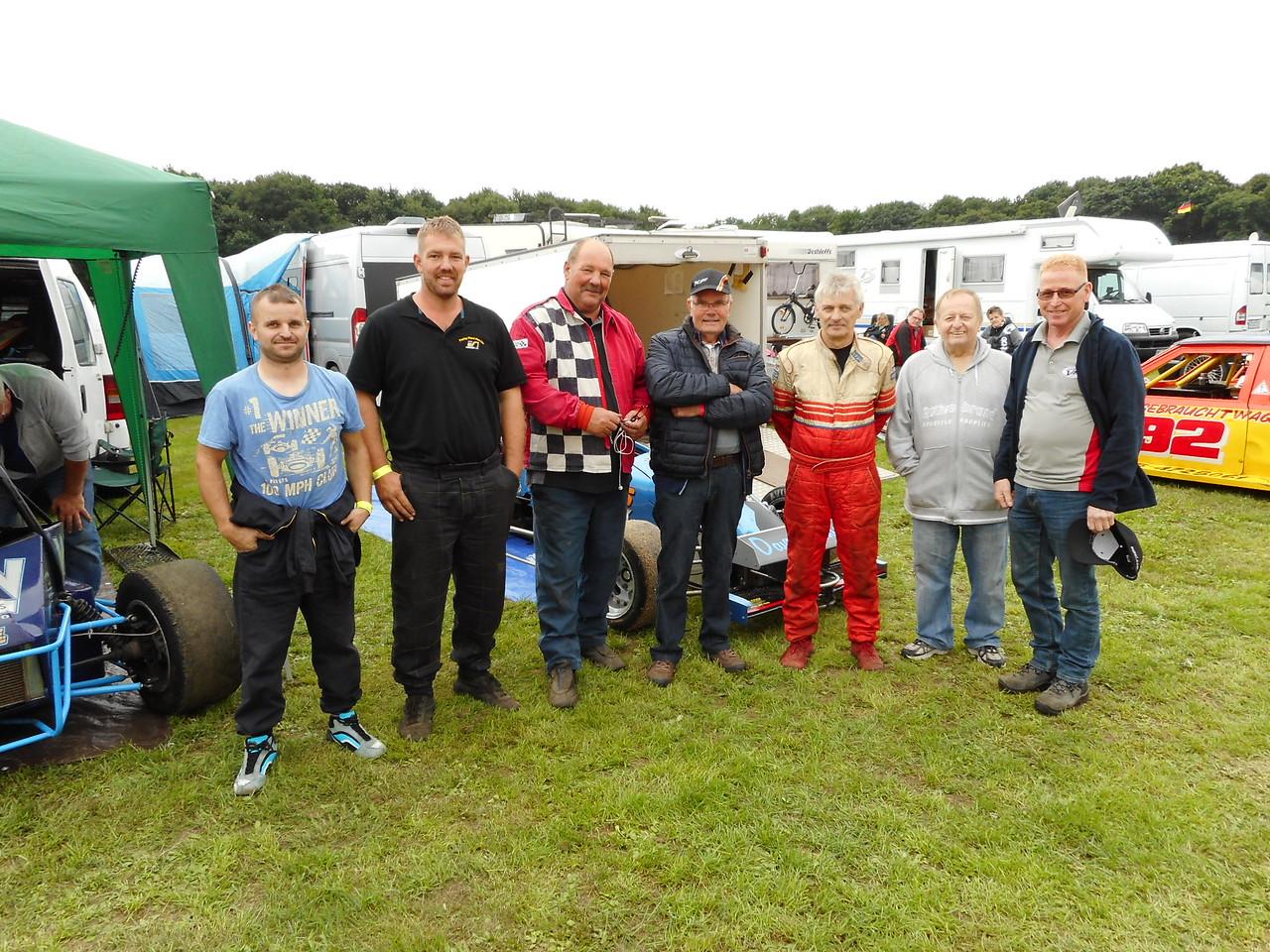 The  Grand Prix midgets european champions.