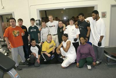 Powerlifters and Freak Nastty ECWA Champion
