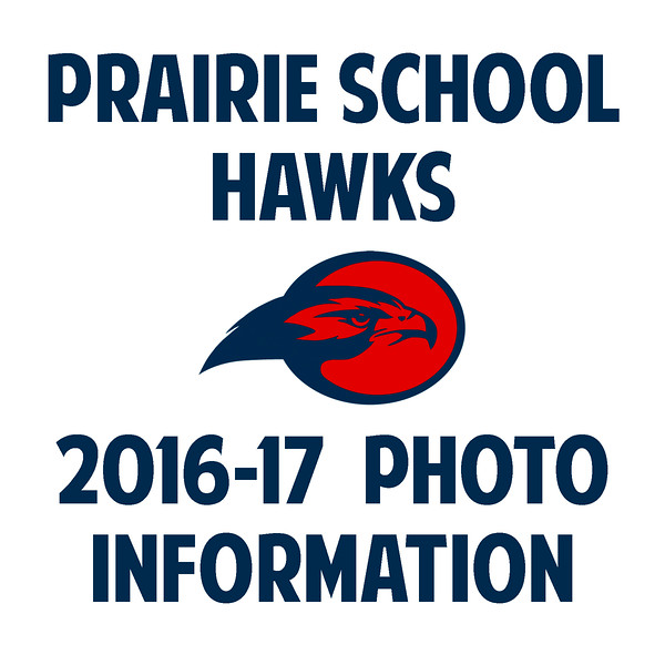 """Welcome to the photo galleries for Prairie Hawks sports for the 2016-2017 school year. Here you'll find galleries of action photos from various games and matches, as well as team (group) photos and individual portraits. Galleries for each sport are available until the end of their respective seasons (parents and players will receive an email letting them know when the galleries are posted). Standard pricing applies through that period. Galleries can be reposted upon request, but premium pricing will apply.<br /> <br /> Fall galleries have been taken down; team photos for girls' and boys' basketball have been taken and will be posted shortly. Action galleries for each sport will also be posted shortly.<br /> <br /> You may order photos from any gallery directly through the website. Click on any photo in a gallery to see a larger version; click the """"Buy Photos"""" button to see size and price options for prints, mounted or framed prints, and digital downloads. Action photos are sorted by game or match. Team (group) and individual photos are in their own galleries. These galleries remain posted until the end of their sports' seasons.<br /> <br /> Thank you for browsing through the images and for buying photos. Email me at jeff@varitay.com if you have any questions."""
