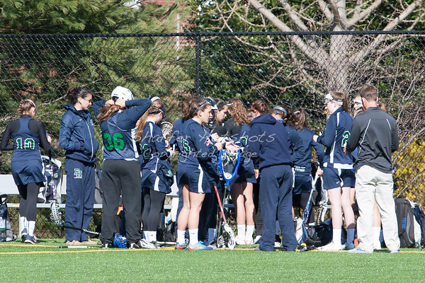 Girls Lacrosse: Flint Hill At NCS (04-02-2013)