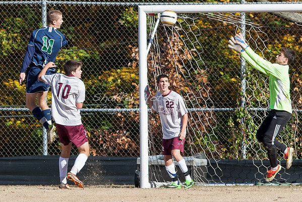 MAC Soccer Championship: Flint Hill at Sidwell  (photos of Flint Hill in action)