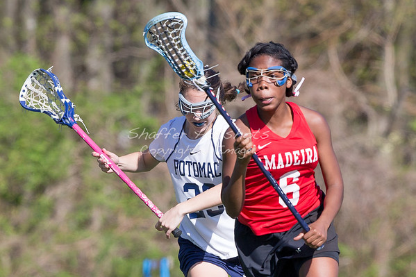 Madeira Varsity Lacrosse at Potomac