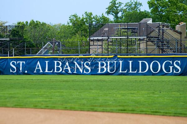 St. Albans Baseball: Senior Ceremony before Bullis game