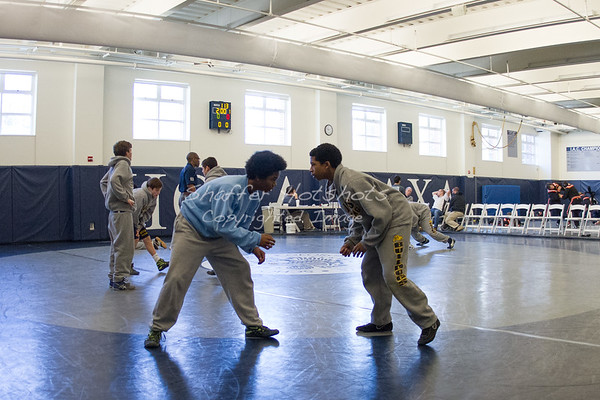 Wrestling: Bullis and Woodberry Forest at Georgetown Prep