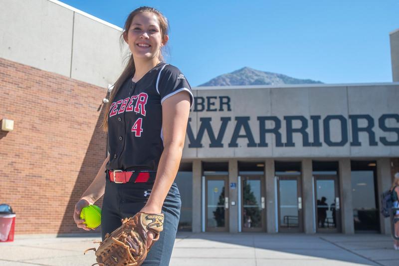 Brooke Merrill Weber Softball June 16, 2021