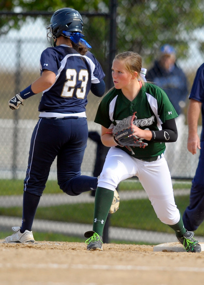 State Softball Day 1