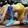 "Seth Harrington of Sedgwick County controls Cole Baughman  of Dove Creek at 132 pounds in the  2A  championship match.<br /> For more photos of the wrestling, go to  <a href=""http://www.dailycamera.com"">http://www.dailycamera.com</a>.<br /> Cliff Grassmick / February 23, 2013"