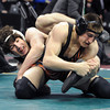 """Jace Lopez, left,  of Roosevelt High School works against Ryan Daves of Montezuma Cortez.<br /> For more photos of the wrestling, go to  <a href=""""http://www.dailycamera.com"""">http://www.dailycamera.com</a>.<br /> Cliff Grassmick / February 23, 2013"""