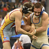 Broomfield's Drew Romero wrestles Windsor's Joel Salomon,  in the 113-pound championship match in class 4A during the state wrestling championships at the Pepsi Center in Denver on Saturday.<br /> February 23, 2013<br /> staff photo/ David R. Jennings