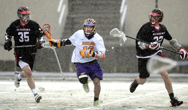 Colorado Academy at Boulder High School lacrosse