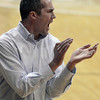 "Boulder High School Head Coach Eric Eisenhard gets excited during a game against Fairview High School on Friday, Feb. 15, at the Coors Event Center on the University of Colorado campus in Boulder. For more photos of the game go to  <a href=""http://www.dailycamera.com"">http://www.dailycamera.com</a><br /> Jeremy Papasso/ Camera"