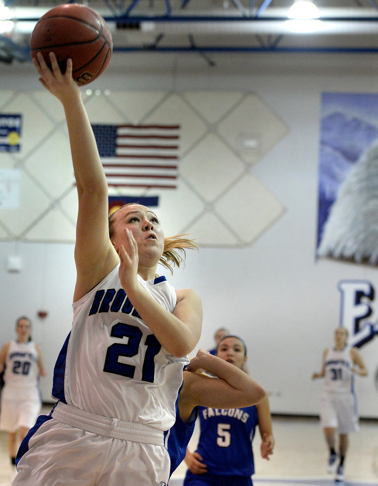 Broomfield vs Highlands Ranch Girls Bball