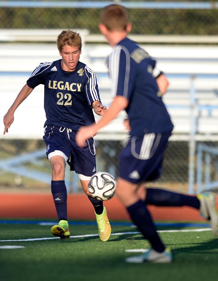 Broomfield vs Legacy boys soccer
