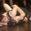 S0201WRESTLE3.jpg S0201WRESTLE3<br /> Erie's Christian Hernandez and Mead's Syllan Burch during the 160 pound match at Erie High School on Thursday evening, January 31st, 2013 where Hernandez won by pin.<br /> <br /> Photo by: Jonathan Castner