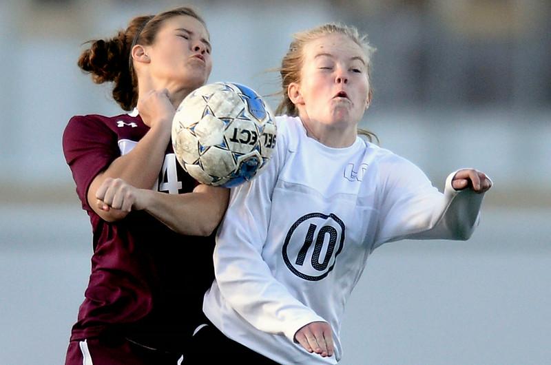 Longmont vs Silver Creek Girls Soccer