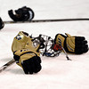 "A Monarch players hockey attire sits on the ice after they lost to Ralston Valley during the Colorado State Ice Hockey Championship game on Friday, March 1, at at Magness Arena in Denver. Monarch lost the game 5-1. For more photos of the game go to  <a href=""http://www.dailycamera.com"">http://www.dailycamera.com</a> <br /> Jeremy Papasso/ Camera"