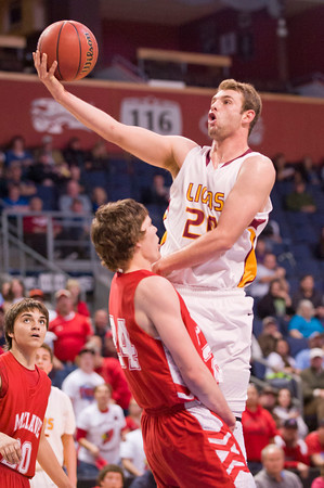 Shining Mountain V. McClave Boys 1A state basketball finals