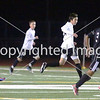 Miramonte High hosts Dougherty Valley High in a Diablo Foothill Athletic League boys soccer game in Orinda, California, on Friday, February 1, 2013. Miramonte won 2-1. Photo by David Yee ©2013